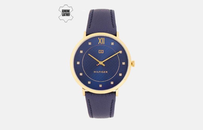 Tommy Hilfiger Men Blue Analogue Watch