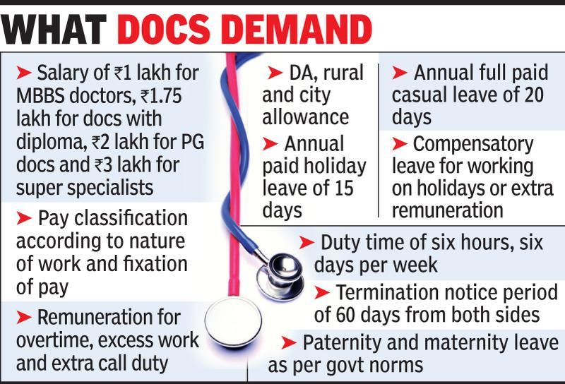 Now, doctors in private hospitals seek better pay