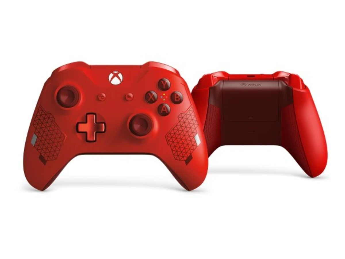 Xbox controller: Microsoft reveals 'Sport Red' Xbox One controller