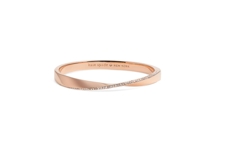 Do the twist pavé bangle by Kate Spade New York