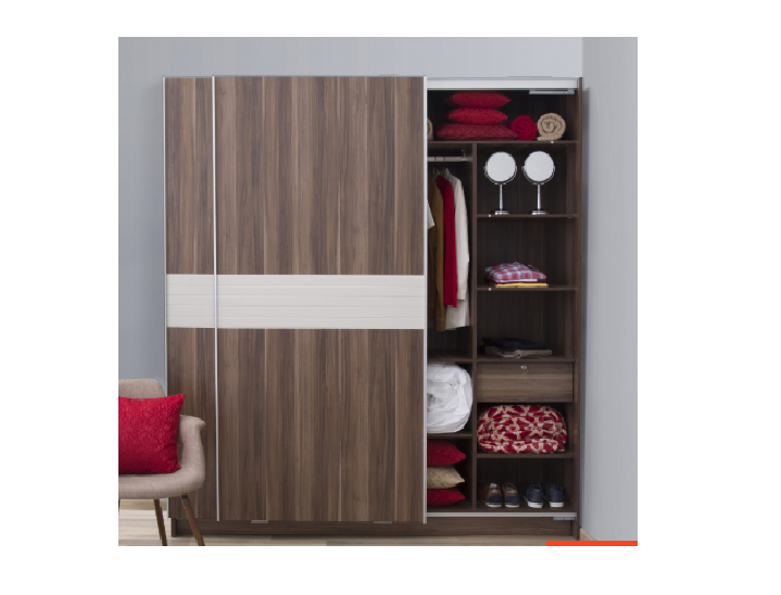 2-Door Sliding Wardrobe