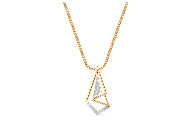 Gold & Diamond Pendant