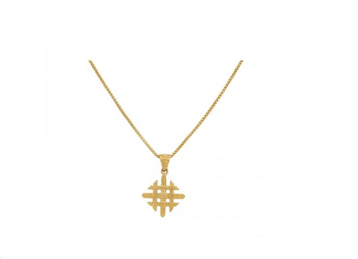 The Bipina Gold Pendant