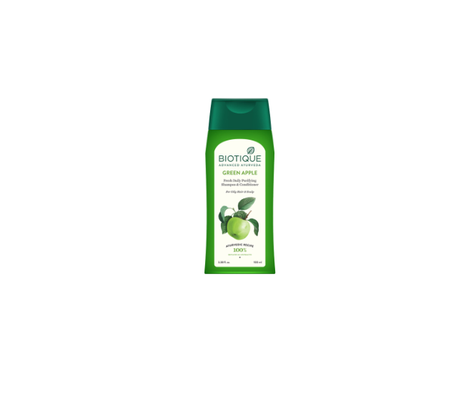 Biotique Bio Green Apple Fresh Daily Purifying Shampoo & Conditoner