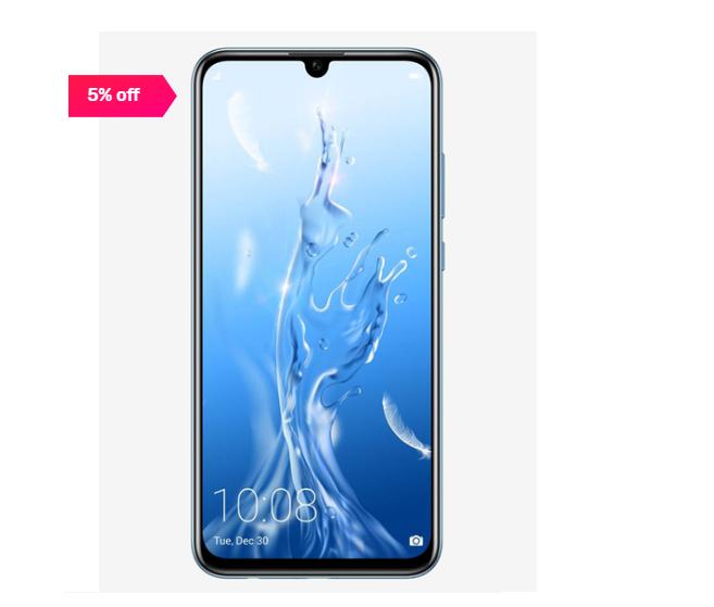 Honor 10 Lite 64 GB (Sky Blue) 6 GB RAM