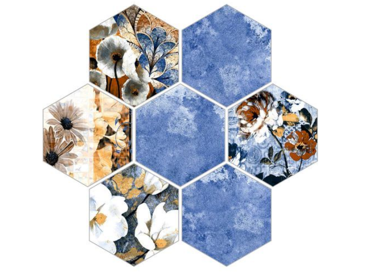 Inviting nature-inspired wall tiles