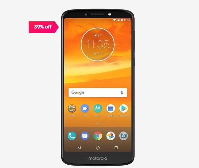 Motorola E5 Plus 32 GB (Black) 3 GB RAM
