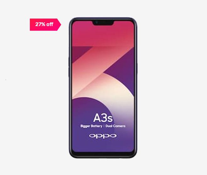 OPPO A3s 16 GB (Purple) 2 GB RAM