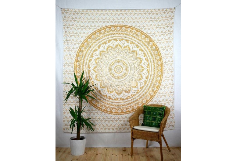 Fabric or Tapestry to add to a blank wall