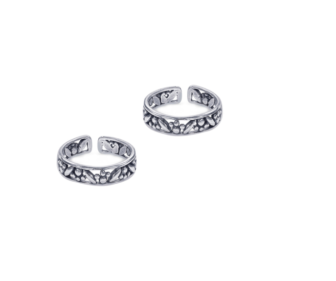 92.5 Sterling Silver Toe Ring