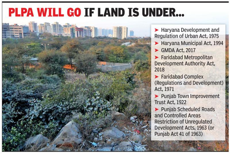 Bill seeking to lift Aravali legal cover may be tabled today
