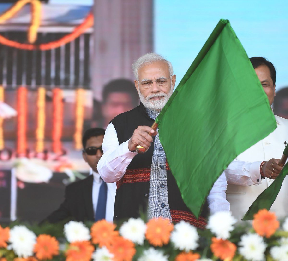 Narendra Modi Bogibeel Inauguration