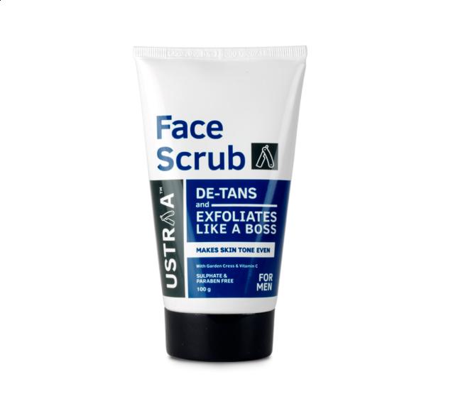 Ustraa De-Tan Face Scrub