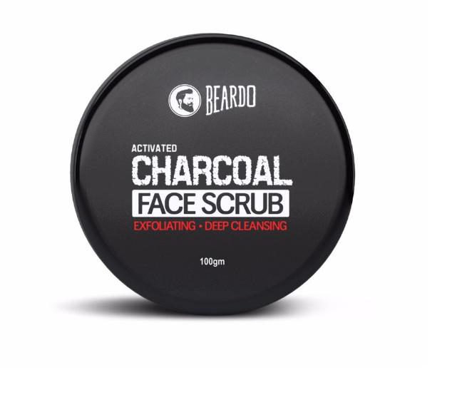 Beardo Activated Charcoal Face Scrub