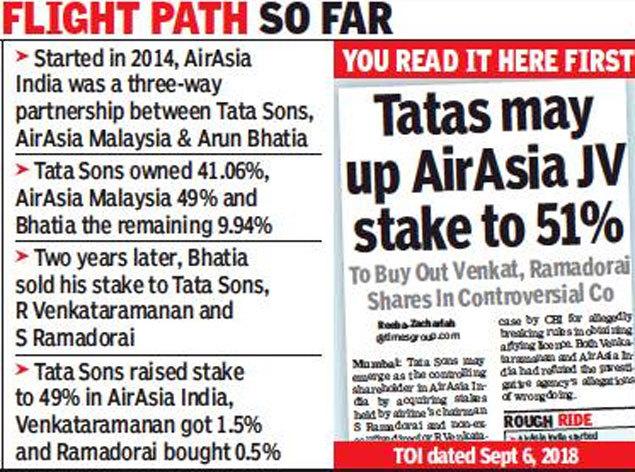 Tata Trusts chief, ex-CEO of TCS exit AirAsia India - Occasions of India - trusts, occasions, india, chief, airasia