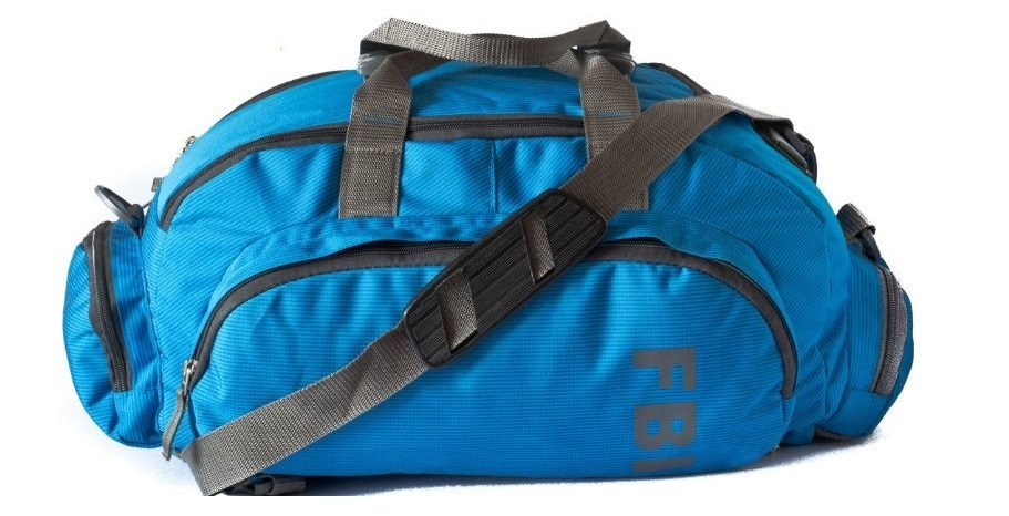 FBI Polyester Travel duffle Backpack