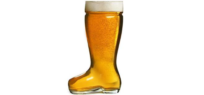 Circleware Boot Beer Glass