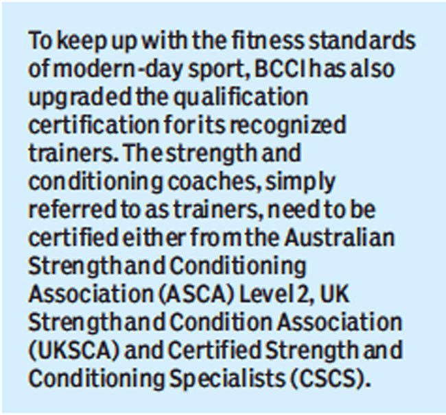 Cricket: BCCI wants hub for sports medicine research at proposed