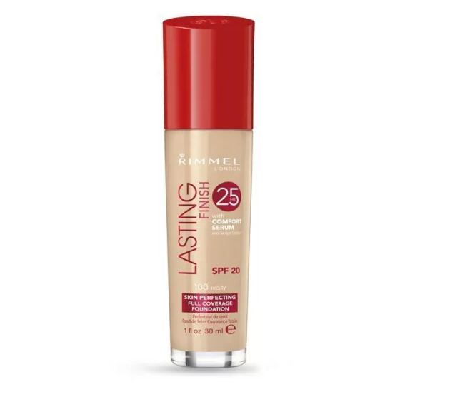 Rimmel London Lasting Finish 25H Skin Perfecting Foundation