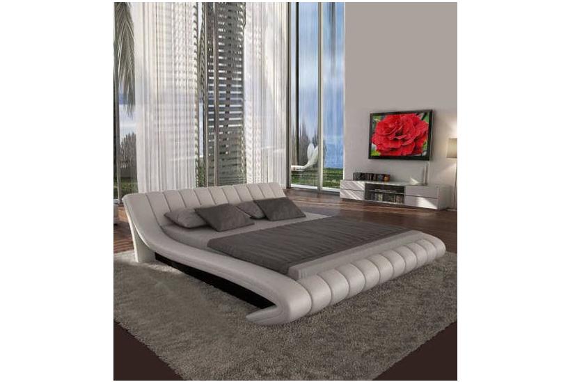 Modern Leatherette Bed