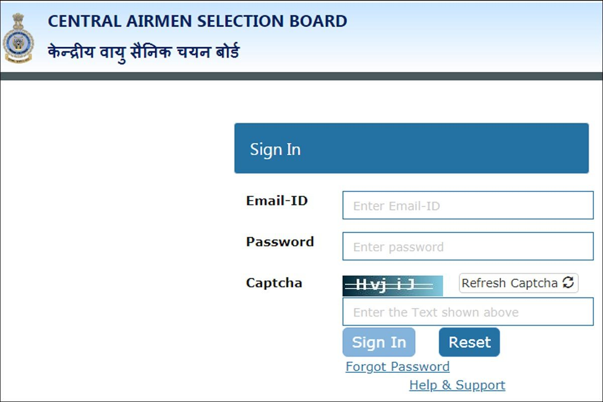 Iaf Airmen Admit Card Indian Air Force Airmen Admit Card Released