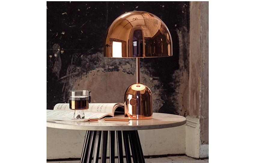 Reflective copper lamp