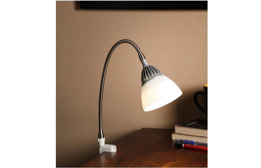 LED clamp study lamp