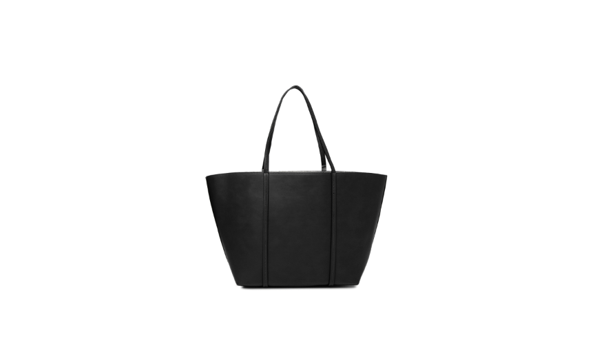 Minimal Black Work Bag