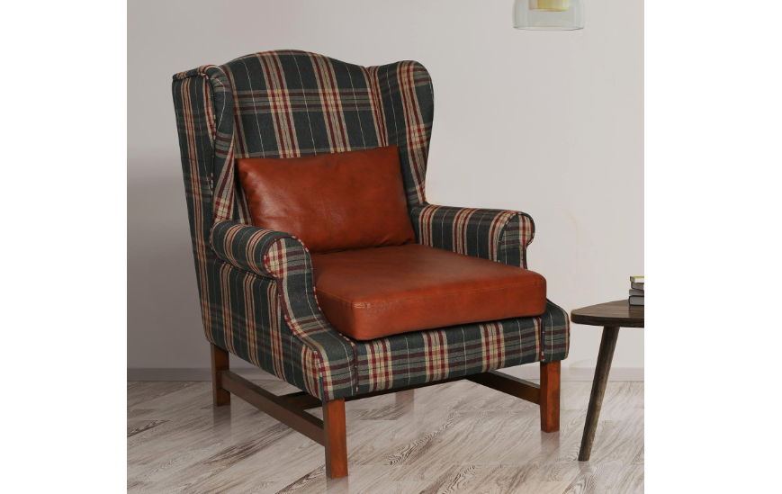 The wing back chair