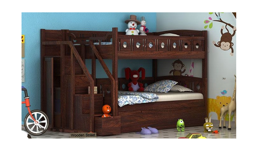 Bunk beds for siblings