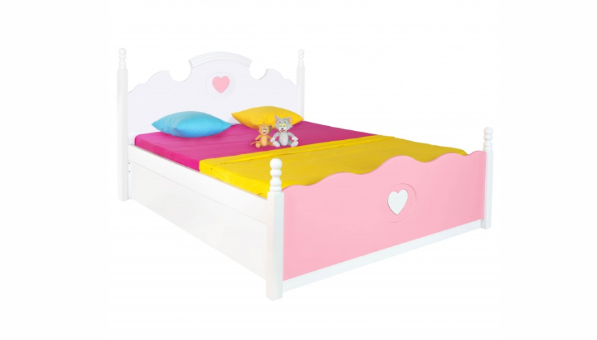 Queen bed for toddler girls