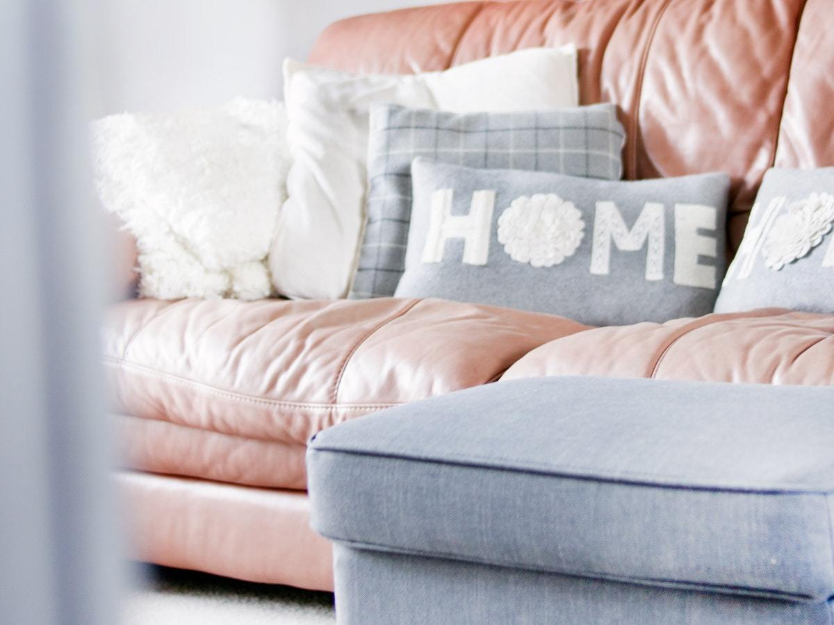 Transform the living room to a relaxing lounge space