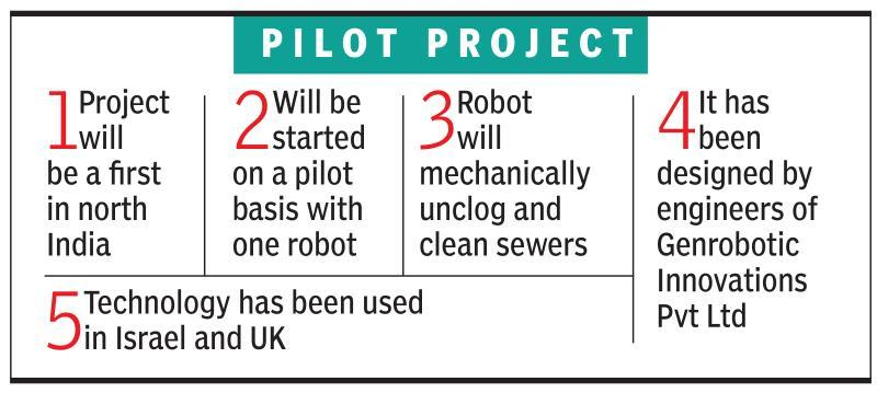 MCG will deploy robots to clean sewers, end manual scavenging