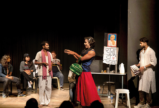 A scene from the play Hum Honge Azad Ek Din which will be staged in the city (BCCL)