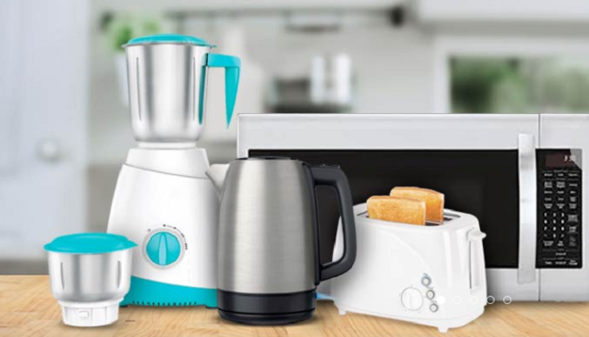 Bank cashback and offers on Kitchen appliances