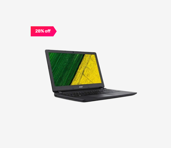28% off on Acer Aspire E5-576
