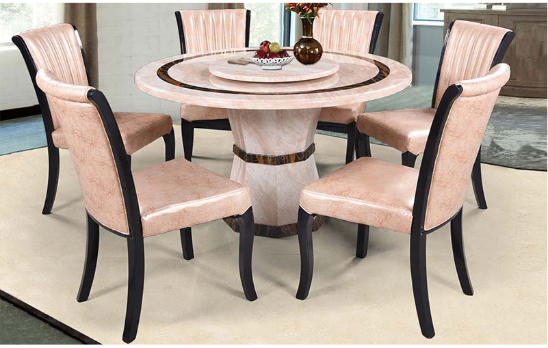 Round dining tables  The ideal dining style for small spaces  1c614ed847