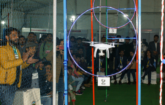 Drones flying_taking part in various competitions (2)