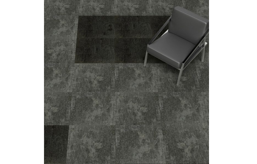 Grey carpet tiles for a sophisticated home decor theme