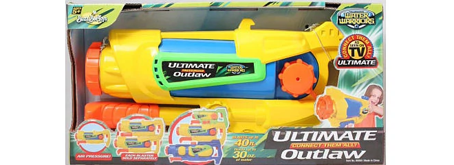 Water Warriors Ultimate Outlaw water gun