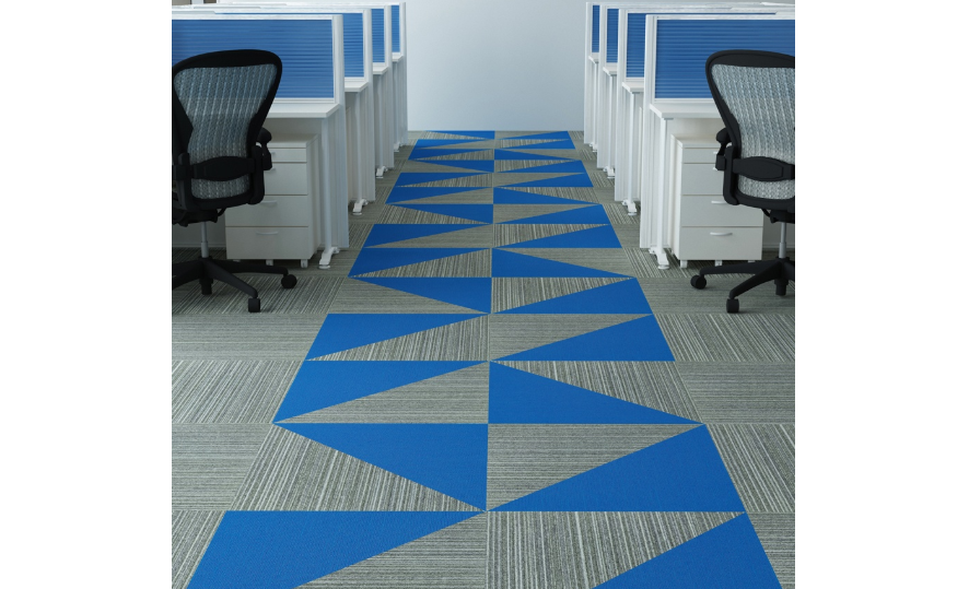 Add colour to the flooring