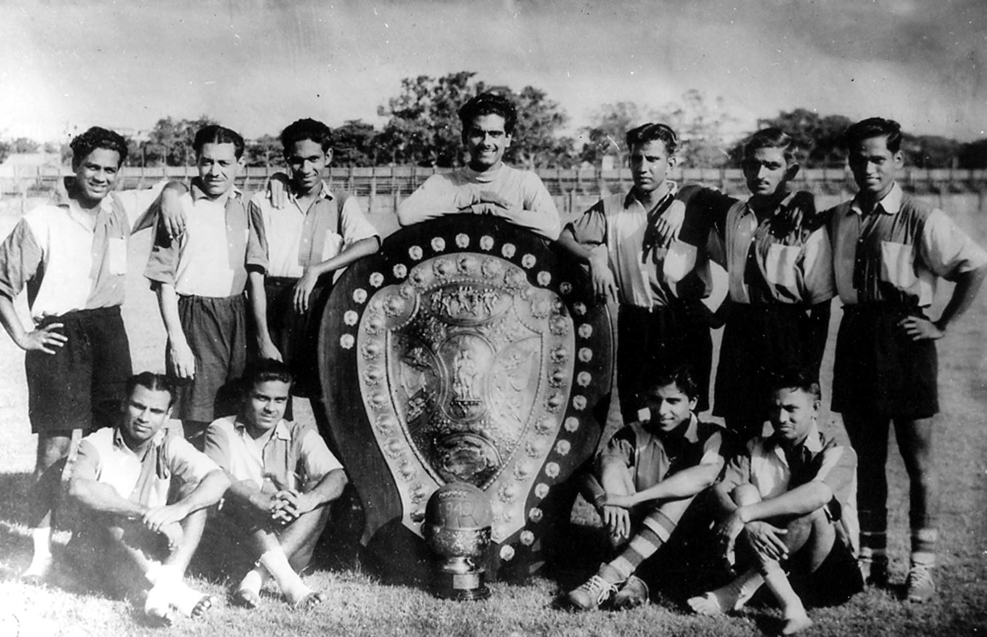 1949 IFA Shield Champions