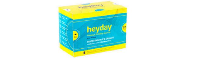 Heydey sanitary pads