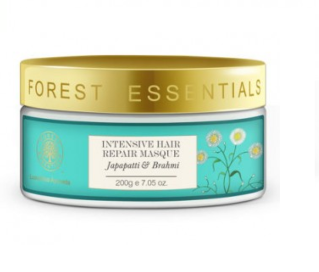 Forest Essentials japapatti and brahmi intensive hair repair masque