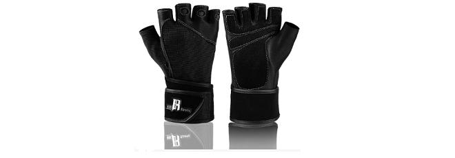 RIMSports Premium weightlifting gloves