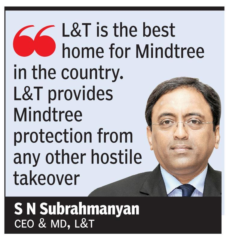 We are not corporate raiders, says L&T CEO