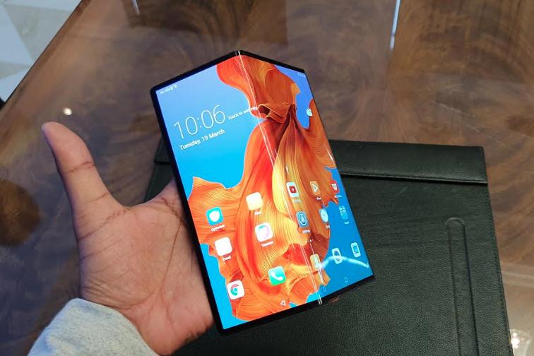 Huawei Mate X india launch