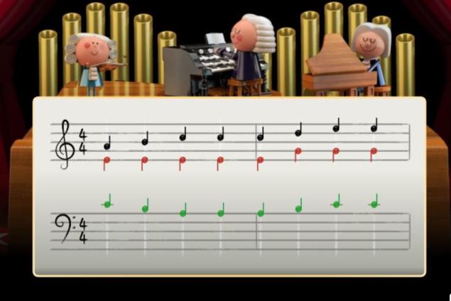 Bach doodle 635
