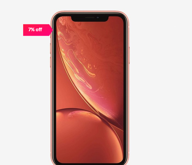 Apple iPhone XR 64 GB (Coral)