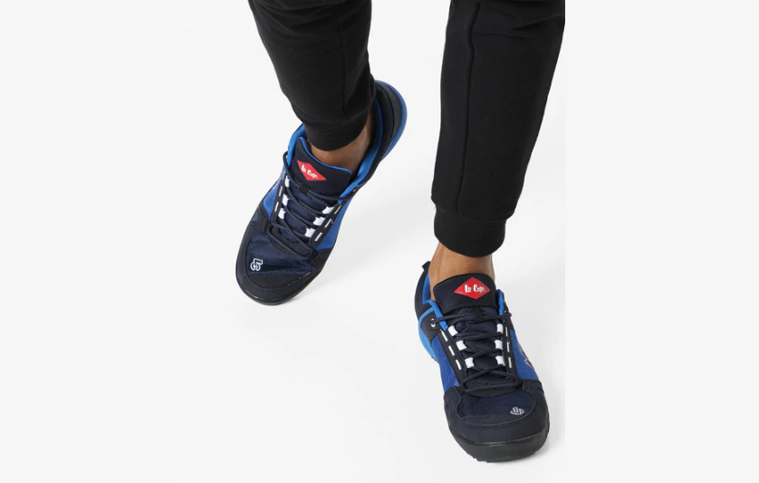 Lee Cooper Perforated Lace-Up Sports Shoes